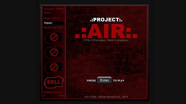 Project AIR [HTML5 via GMS]